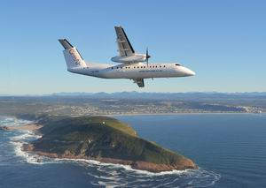 CemAir Dash 8 Q300 over Robberg