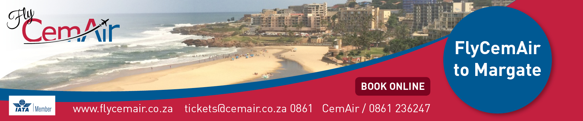 Visit the KwaZulu Natal South Coast with CemAir