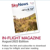 Read CemAir's inflight magazine