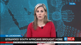 eNCA-Stranded South Africans brought home (YouTube)