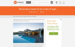 Plett property market all set to take off again