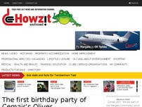 The first birthday party of Cemair's Oliver Tambo/Margate flights was the proverbial bash